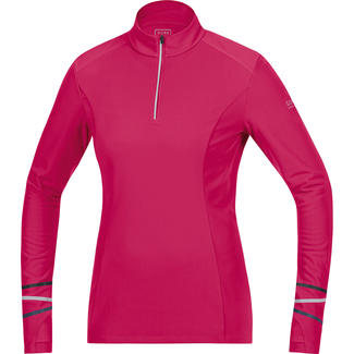 Warmes Damen-Lauftrikot Mythos Lady 2.0 Thermo Shirt Long, 38, Pink