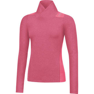 Warmes Dames-Lauftrikot Sunlight Lady Thermo Shirt Long, 34, Pink
