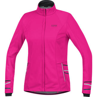 Warme Damen-Laufjacke Mythos 2.0 Windstopper, 36, Pink