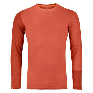Herren-Funktionswäsche  ROCK'N'WOOL LS, L, Orange