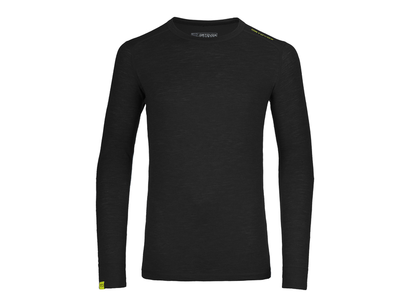 Herren-Funktionsunterwäsche Ultra Long Sleeve, L, Schwarz
