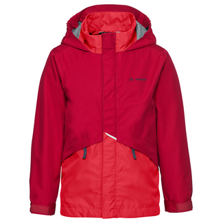 Kinder-Regenjacke Escape Light Jacket II, 116, Rot