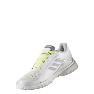 Damen-Tennisschuh BARRICADE W, 8.5, WHITE/YELLOW
