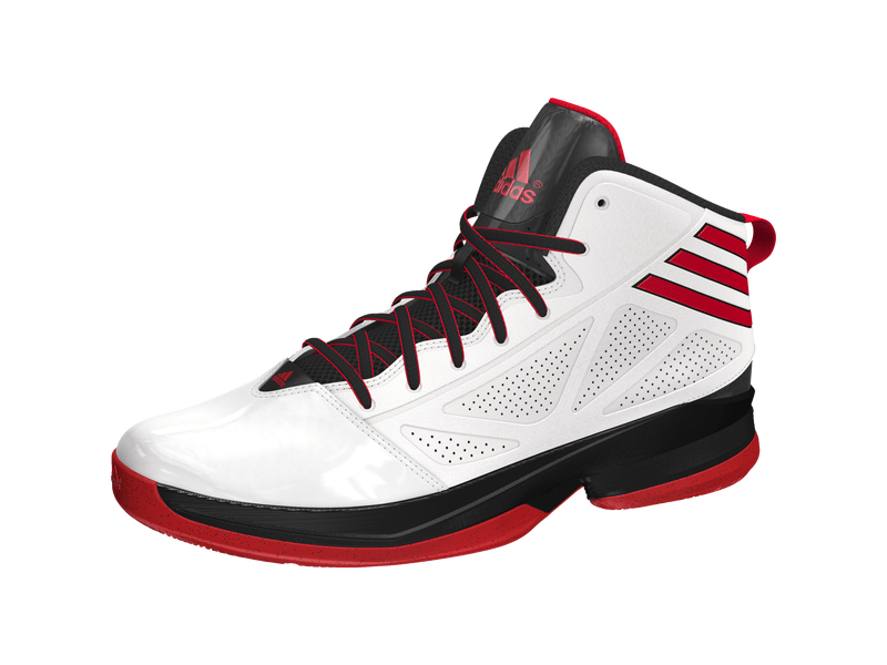 H.Basketball-Schuh Mad Handle 2, 12, RUNWHT/LGTSC