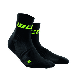 Sportsocken W SHORT ULTRA, 2, black-green