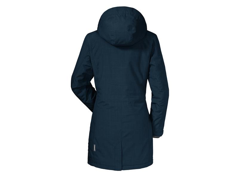 Genieße am niedrigsten Preis hohes Ansehen attraktiver Preis Damen-Wanderjacke Insulated Parka Monterey, 46, nightblue