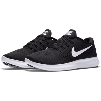 Damen-Fitnessschuh Nike Free RN, 6,  BLACK/WHITE-ANTHRACITE