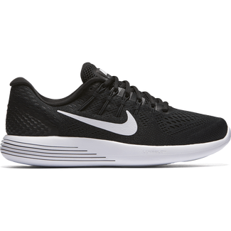 Women's Nike LunarGlide 8 Running Shoe - 5 - BLACK/WHITE-ANTHRACITE