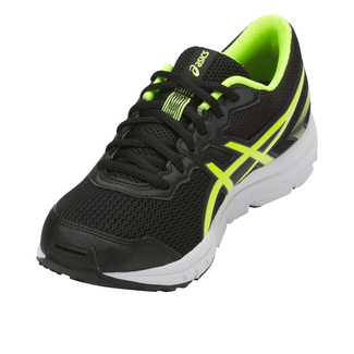 J.Jogging-Schuh PRE GALAXY 8 PS, 28,5, BLACK/FLASH YELLOW/WHITE