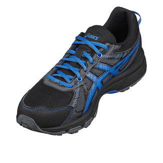 J.Jogging-Schuh GEL-CUMULUS 17 GS, 2.5, BLACK/METHYL BLUE/FLASH CORAL