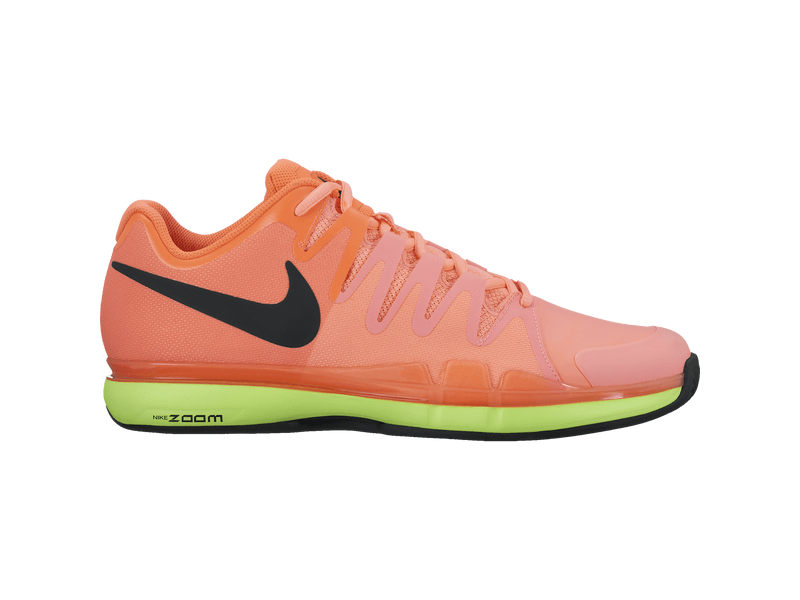 Nike Zoom Vapor Tour Clay, 12, orange/grün