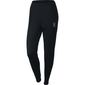 Women's NikeCourt Tennis Pant - M - BLACK/WHITE