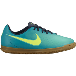 Kids' Nike Jr. Magista Ola II (IC) Indoor-Competition Football Boot - 2 - RIO TEAL/VOLT-OBSIDIAN-CLR JD