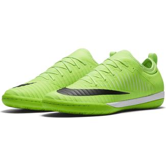 Fußball Hallenschuhe Men's Nike Hypervenom Phade III (IC) Indoor Competition Football Boot, 11, ELECTRIC GREENBLACK HYPER ORA