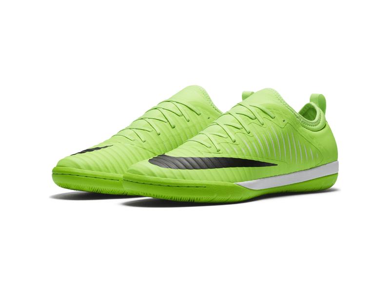 best website eba6e e50f5 Fußball-Hallenschuhe Nike MercurialX Finale II (IC), 10, FLASH LIME