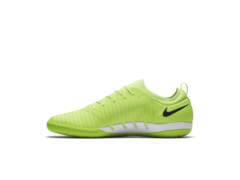 Fussball Hallenschuhe Nike Mercurialx Finale Ii Ic 10 Flash Lime Black White Gum Lig
