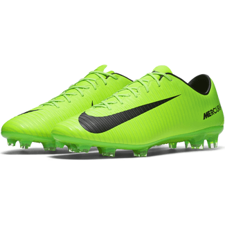 Men's Nike Mercurial Veloce lII (FG) Firm-Ground Football Boot - 9 - ELECTRIC GREEN/BLACK-FLASH LIM