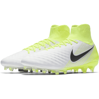 Men's Nike Magista Orden II (FG) Firm-Ground Football Boot - 7.5 - WHITE/BLACK-VOLT-PURE PLATINUM
