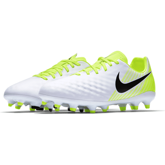 Kids' Nike Magista Opus II (FG) Firm-Ground Football Boot - 2.5 - WHITE/BLACK-VOLT-PURE PLATINUM