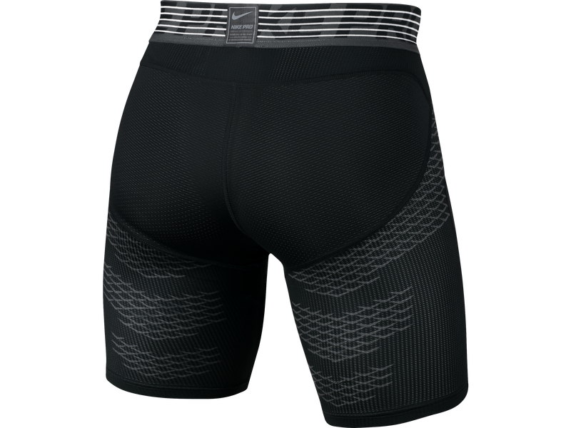 Men's Nike Pro Hypercool Short - M - BLACK/ANTHRACITE/MTLC HEMATITE