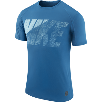 Men's Nike Pro Top - L - INDUSTRIAL BLUE/BINARY BLUE/BI