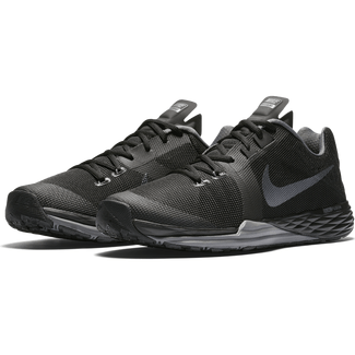 Herren-Trainingsschuh NIKE TRAIN PRIME IRON DF, 7, BLACK/MTLC HEMATITE-DARK GREY
