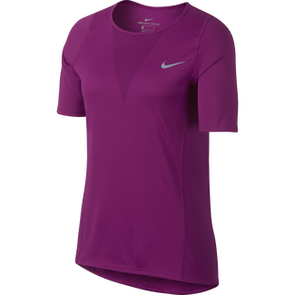 Women's Nike Zonal Cooling Relay Running Top - M - TRUE BERRY