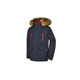 ABUDI jun (parka), 152, dark shadow splash.hot red