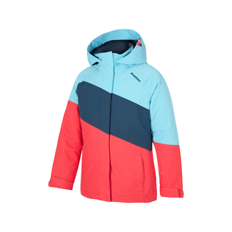 Jugend-Skijacke Abbi jun (jacket ski), 128, blue-aqua-canvas