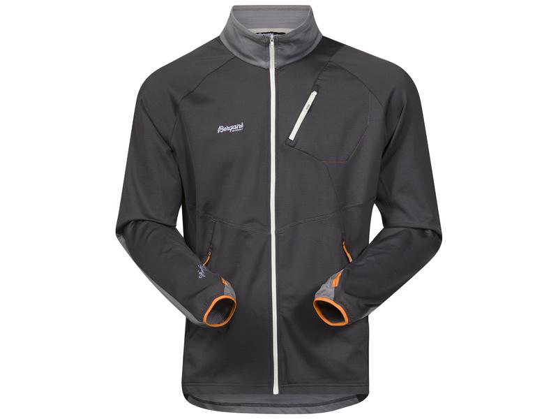 finest selection b3abd e9285 Leichte Herren-Wanderjacke Galdebergtind Jacket, XL,  SolidCharcoal/SolidGrey/Pumpki