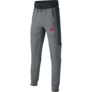 Boys' Nike Air Pants - S - CARBON HEATHER/ANTHRACITE/SIRE