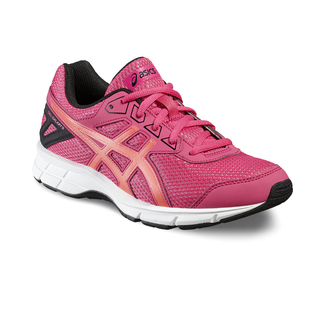 J.Jogging-Schuh GEL-GALAXY 9 GS, 5.5, SPORT PINK/FLASH CORAL/BLACK