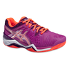 Damen-Tennisschuh GEL-RESOLUTION 6 CLAY, 8, RY/FLASH CORAL/PLUM