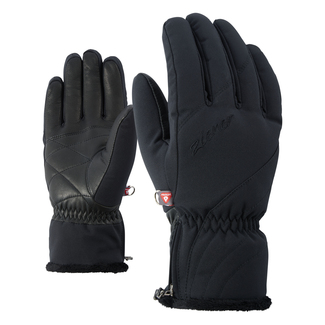 Skihandschuh Kid PR lady glove, 6.5, black