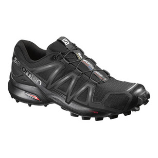 D.Jogging-Schuh SPEEDCROSS 4 W, 5, BLACK/BLACK/BLACK METALLIC