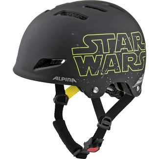 Radhelm Alpina Park JR, 51 – 55, Star Wars-black
