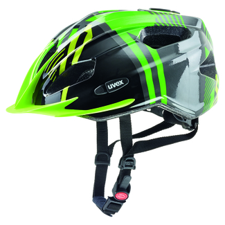 Radhelm uvex quatro junior, 50 – 55, anthracite green