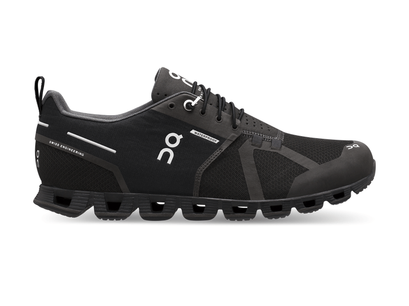 Herren-Joggingschuh Cloud Waterproof, 11, Black | Lunar