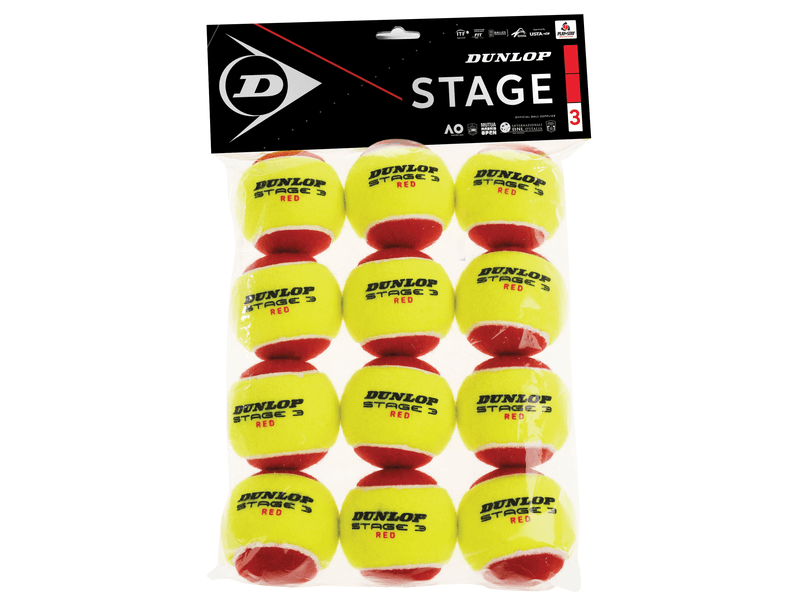 Tennisball Stage 3, 12er-Verpackung