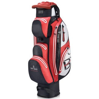 "Golf Trolleybag QO 14 WP, 10"", BLK/RED/WHT"