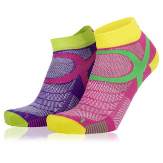 Sportsocken Eightsox Sneaker, 2 Paar, 35-38, pink/purple