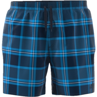 Schwimmshorts, check watershort - short length, M, Blau