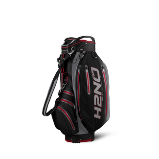 "Golftrollybag H2 NO ELITE, 10"", BLK/RED/CHARCOAL"