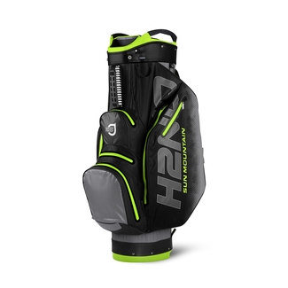 "Golftrollybag H2 NO CA, 10"", GREY/BLK/FLASHGREEN"