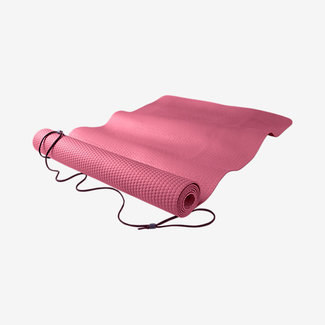 Gymnastikzubehör Fundamental Yoga Matte, Pink, 3mm