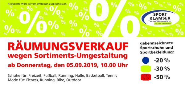 Sport Klamser Newsletter