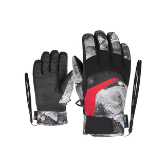 Kinder-Fingerhandschuh Labino AS(R), 6,5, grey mountain print