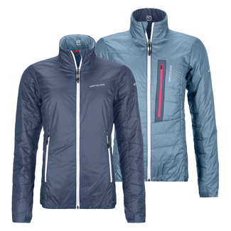 Leichte Damen-Wanderjacke SWISSWOOL PIZ BIAL JACKET W, L, night blue