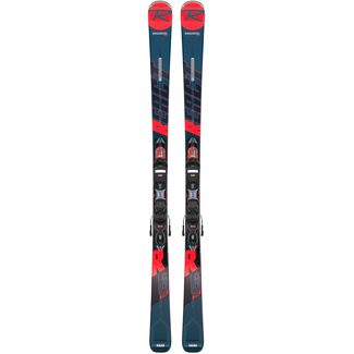 Rossignol All Mountain React R6 Compact inkl. XP11 GW black-red Bindung, 163 cm, 19/20
