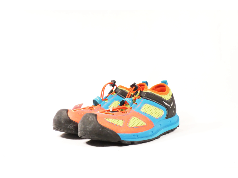Kinder-Wanderschuh Swift, 29, orange-grün-blau